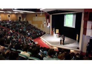 Erbakan Malkoç, ADÜ Gençlere Tavsiyelerde Bulundu