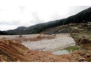 Kaş İkizce Barajının Yüzde 85'i Tamamlandı