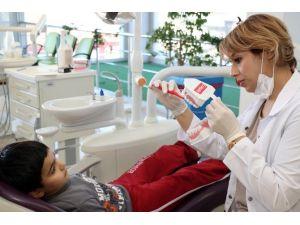 ABB 24 Bin 406 Çocuğa Ağız Ve Diş Bakımı Hizmeti Verdi