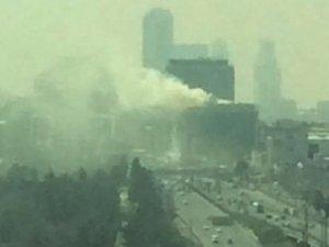 MHP İstanbul İl Başkanlığı'nın bulunduğu binada yangın çıktı