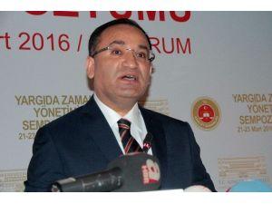 Bakan Bozdağ'dan 'Dokunulmazlık' Açıklaması