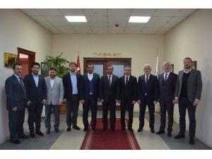 Yapı Müteahhitlerinden Başkan Toltar'a Ziyaret