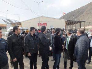STK Temsilcileri Sınır Kapısında İncelemelerde Bulundu