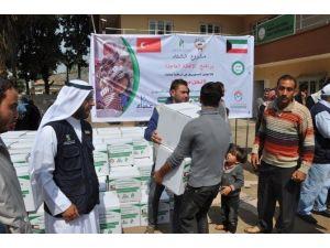 Suriyelilere Gıda Yardımı
