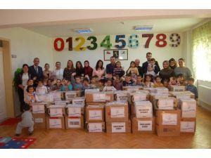 Anaokulu Öğrencilerinden Suruç'a Yardım