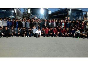 """Beyşehirli Gençler """"Anadolu Kandilleri"""" Kampına Katıldı"""