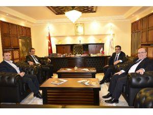 Mesleki Yeterlilik Kurumu Yönetim Kurulu BEÜ'de Toplandı