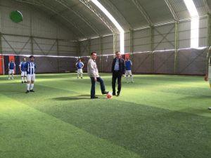 Bankalar Arası Futbol Turnuvası Start Aldı