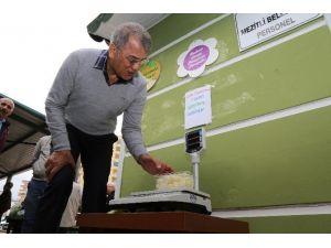 Mezitli Belediyesi'nden Pazarlara Elektronik Terazi