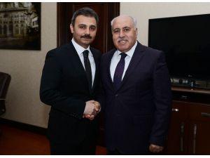 Yeşilli Belediye Başkanı Demir'den Başkan Külcü'ye Ziyaret