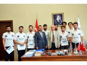 Kırıkkale Üniversitesi'nin robotları, ODTÜ yarışmasında birinci oldu