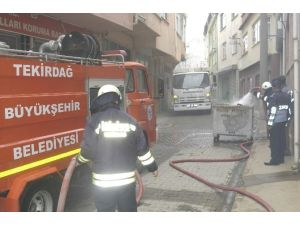 Dar Sokakta Yangın Paniği