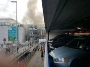 Brüksel Havalimanı'ndan Patlama: En Az 10 Yaralı