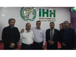 Halepçe Heyeti Şanlıurfa İHH'yı Ziyaret Etti