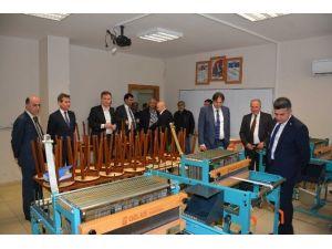 OSB Başkanları, Erkan Teknik Meslek Lisesi'nde