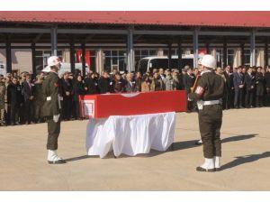 Mardin'de Şehitler İçin Askeri Tören Düzenlendi