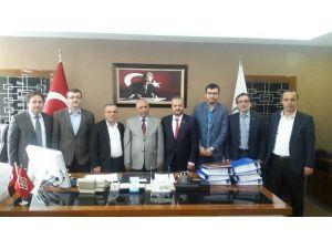 MÜSİAD'dan DSİ Kastamonu Bölge Müdürlüğüne Ziyaret