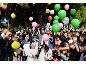 Muratpaşa'dan Barış İçin Balon