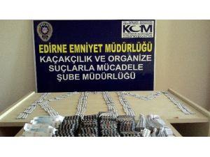 Edirne'de Kaçak İlaç Operasyonu