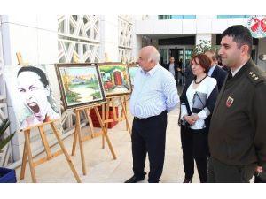 Amatör Sanatçılar Döşemealtı'nda Sergi Açtı