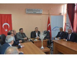 AK Parti'li Özkan'dan Milli Eğitim Müdürü Koca'ya Ziyaret