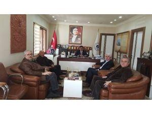 Odunpazarı Eski Belediye Başkanı Sakallı'dan Başkan Yalçın'a Ziyaret