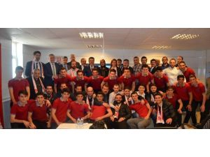 Dünya Şampiyonu Erdoğdu Anadolu Lisesi'nden Basına Teşekkür