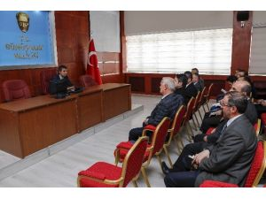 Gümüşhane'de Süleymaniye Mahallesi İçin Koordinasyon Toplantısı Yapıldı