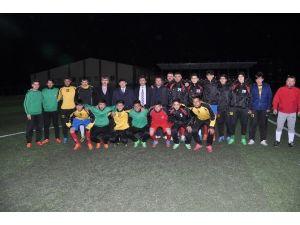 Başkan Güven'den Futbolculara Moral
