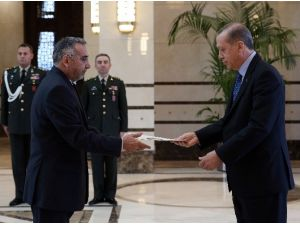 İran İslam Cumhuriyeti Büyükelçisi'nden Cumhurbaşkanı Erdoğan'a Güven Mektubu