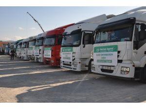 İHH'dan Suriye'ye 500 Ton UN Yardımı