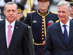 Cumhurbaşkanı Erdoğan'dan Belçika Kralı Philippe'e taziye telefonu