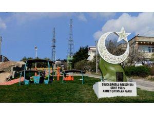 Şehit Ahmet Çiftaslan'ın Adı Anıtta Yaşayacak