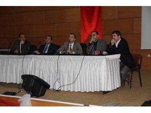 """Afyonkarahisar Devlet Hastanesi'nde """"Hekimlerin Sorunları Ve Çözüm Önerileri"""" Paneli Düzenlendi"""