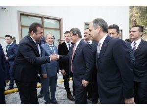 Başbakan Davutoğlu Ve Bakan Çağatay Kılıç Kızılcahamam'da