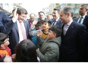 Başbakan Davutoğlu, Kızılcahamam'da