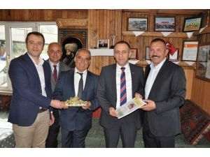 Ztso Heyetinden Karbomet Madenciliğe Kutlama Ziyareti