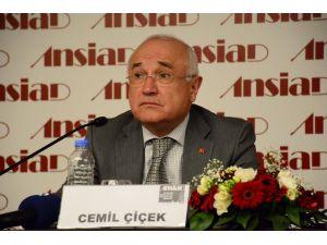 Cemil Çiçek: Avrupa, terör örgütlerine himaye sağladı