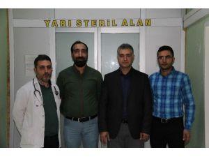 Silvan Devlet Hastanesi Hizmete Devam Ediyor