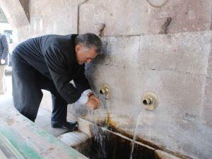 Büyükkılıç: Çeşmelerinden su içilen şehiriz