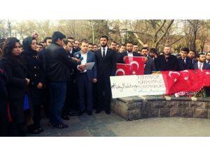 AK Partili Gençler Teröre Karşı Bir Araya Geldi