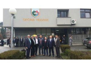 İzmit Belediyesi Travnik Belediyesi'ni Ziyaret Etti