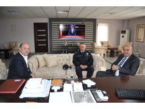 Bilecik İl Emniyet Müdürü Bektaş'tan Bozüyük Belediyesi'ne Veda Ziyareti