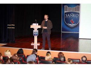 Özel Sanko Okullarında Söyleşi