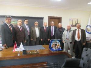 Emirdağlılar Vakfı Başkan Adayı Olcay Yılmaz Emirdağ'da