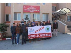 Bilecik Gençlik Merkezi'nden Huzur Evi Ziyareti