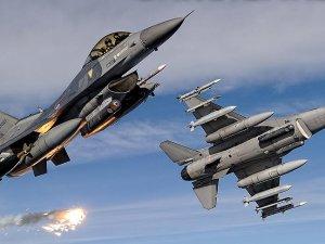 Terör örgütü PKK hedeflerine hava harekatı