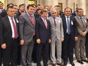 GMİS Yönetimi Başbakan Davutoğlu İle Görüştü