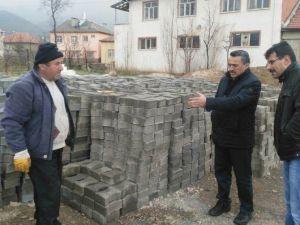 Seydişehir Belediyesi Kilitli Parke Taşı Üretimine Başladı