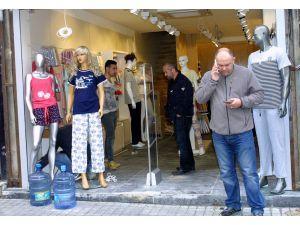 İstiklal saldırısının sembolü mağaza açıldı